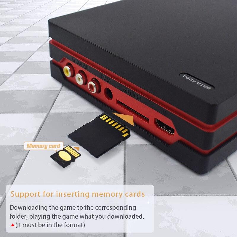 DONNÉES GRENOUILLE Jeu Console Avec 2.4G manette sans fil HDMI jeu vidéo Console 600 Jeux Classiques Pour GBA Famille TV Rétro Jeu - 3
