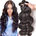 Peruano Onda Do Corpo Do Cabelo Virgem Pacotes de 100g Onda Do Corpo Peruano wonder girl cabelo peruano molhado e ondulado do cabelo humano pacote feixes