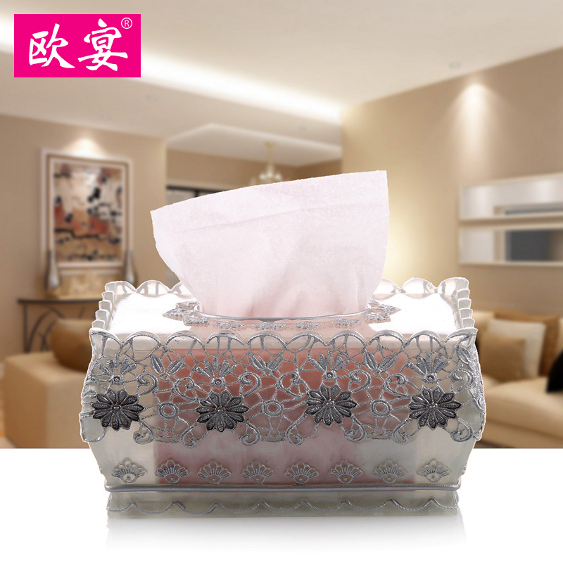Europe feast paper box box garden European style resin suction box fashion living room toilet paper towel boxEurope feast paper box box garden European style resin suction box fashion living room toilet paper towel box