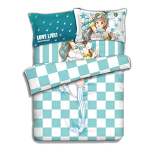 LoveLive! Kotori Minami Anime Bedding Sheet Bedding Sets Comforter Sets Pillow Case 4PCS