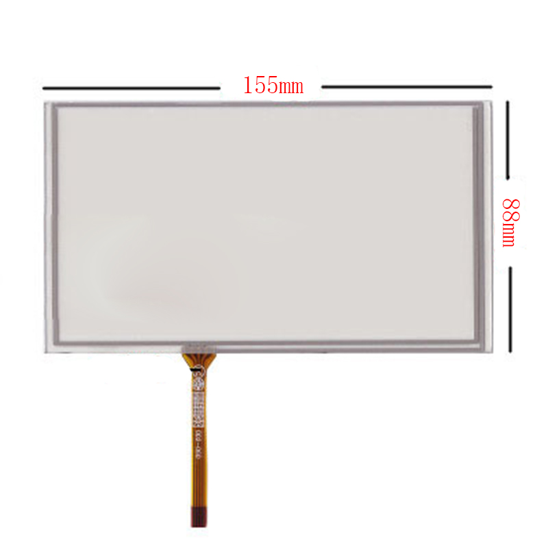 New 6.2 Inch 4Wire Resistive Touch Panel Digitizer Screen For Mystery MDD-6280NV