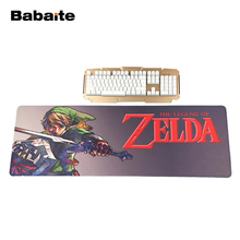 Babaite Soft Non-Skid Rectangle Mousepad The Legend of Zelda Eagles Logo Sword Gaming Mouse Pad PC Computer Laptop Gaming Mice