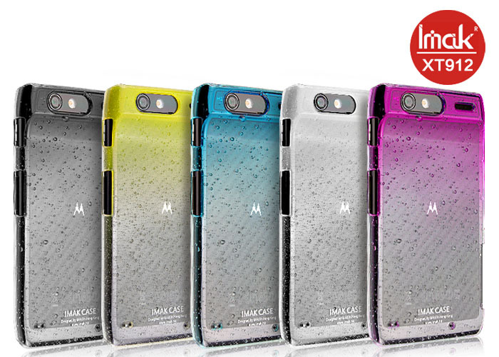 motorola droid razr cases. 5 color,imak raindrop clear case for motorola xt910 xt912 droid razr, with free screen protector,free shipping-in phone cases from cellphones razr z