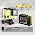 2016 NEW! 4K Ultra HD WiFi Sport Action Camera Slim Video Camera 30M Underwater Waterproof  H2/H2R(remote) 4K Wifi Sports Camera