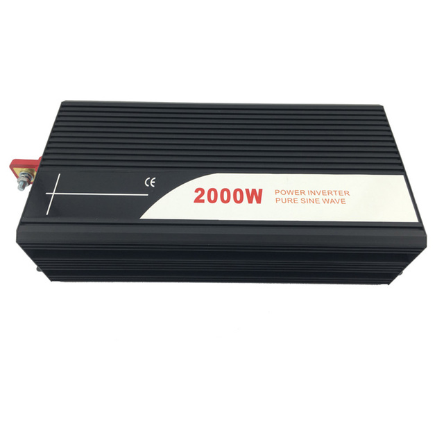 2000W pure sine wave solar power inverter DC AC 110V 2