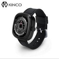 Kinco أسود الفضة الذهب MTK2502C سوار القلب رصد معدل النوم الاسورة كاميرا مكالمة عن watchphone ل ios الروبوت الذكي