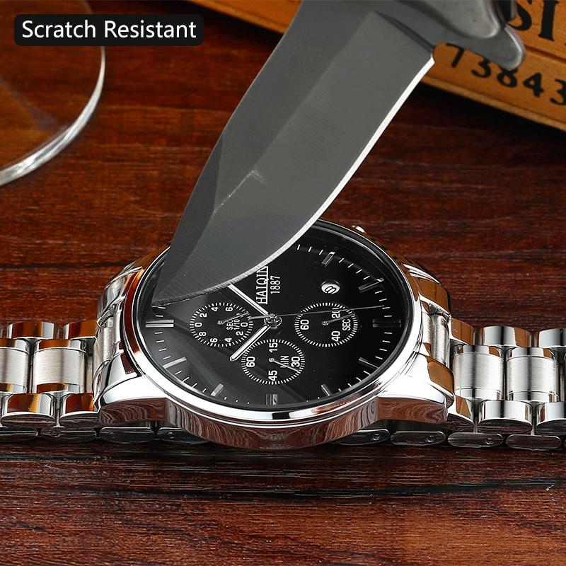 b2c95a1f8c08 HAIQIN Men s watches Fashion Watch Men top brand luxury Sport military Gold  quartz wrist watch male clock relogio masculino-in Quartz Watches from  Watches ...