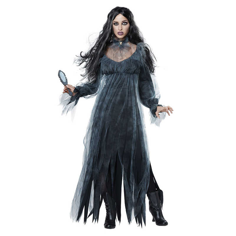 Halloween New Horror Ghost Bride Lost Clothing Game Clothes Bar Stage Vampire Devil Costumes Masquerade Role Playing Costume