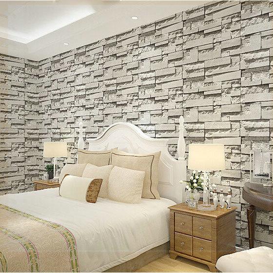 papier peint effet pierre 3d cheap effet de papier peint de pierre noire d noir papier peint de. Black Bedroom Furniture Sets. Home Design Ideas