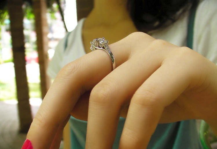 THREEMAN винтажное Ювелирное кольцо с тремя камнями 1,7 карат синтетические бриллианты Женское Обручальное кольцо на палец Белое золото свадебные украшения