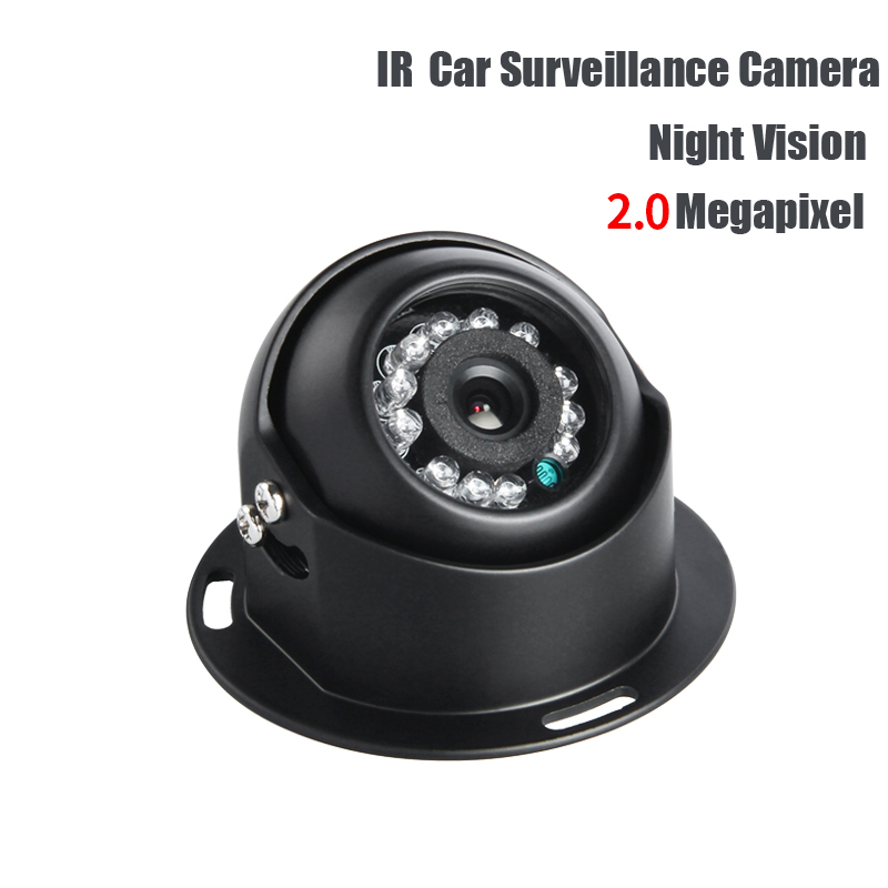 AHD 2.0MP Indoor Truck Mini Camera IR Night Vision 1/3 CCD Sony PAL 3.6mm for Vehicle School Bus Vans Taxi Surveillance Security 1 3 ccd waterproof surveillance security camera with 42 led night vision white dc 12v
