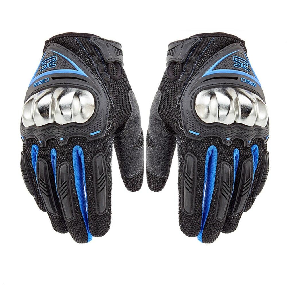 Motorcycle Gloves Summer Women Full Finger Racing ...