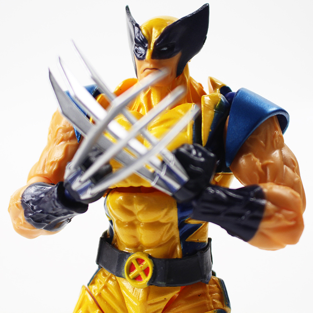 Marvel Super Hero X-Men Wolverine Logan Howlett Action Figure 15cm