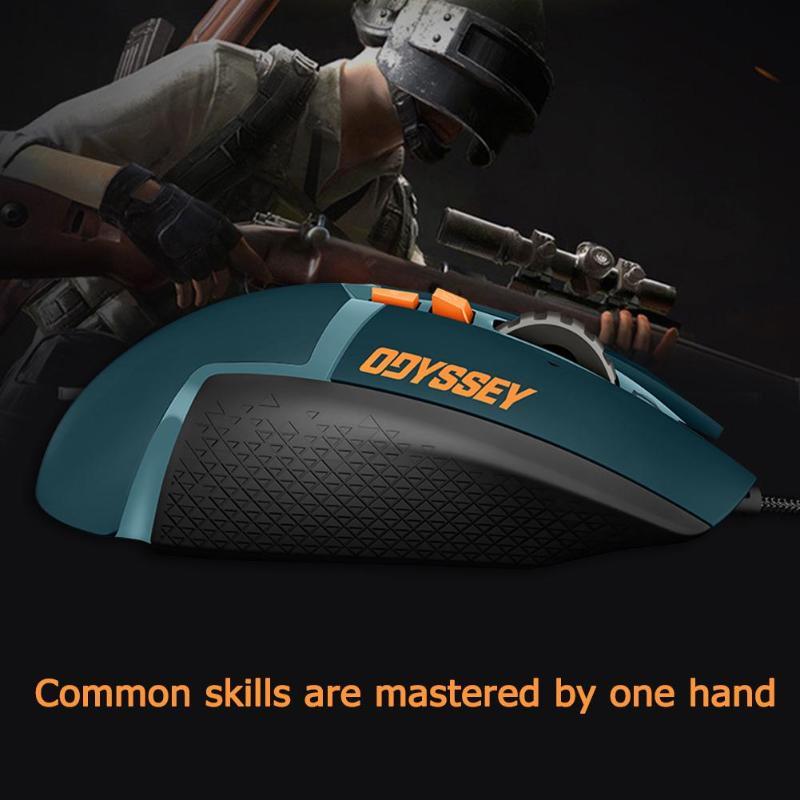 Игровая мышь logitech G502 Hero, 11 кнопок, RGM 16000 dpi, геймерская проводная мышь, регулируемая по весу мышь для PUBG/LOL - 3