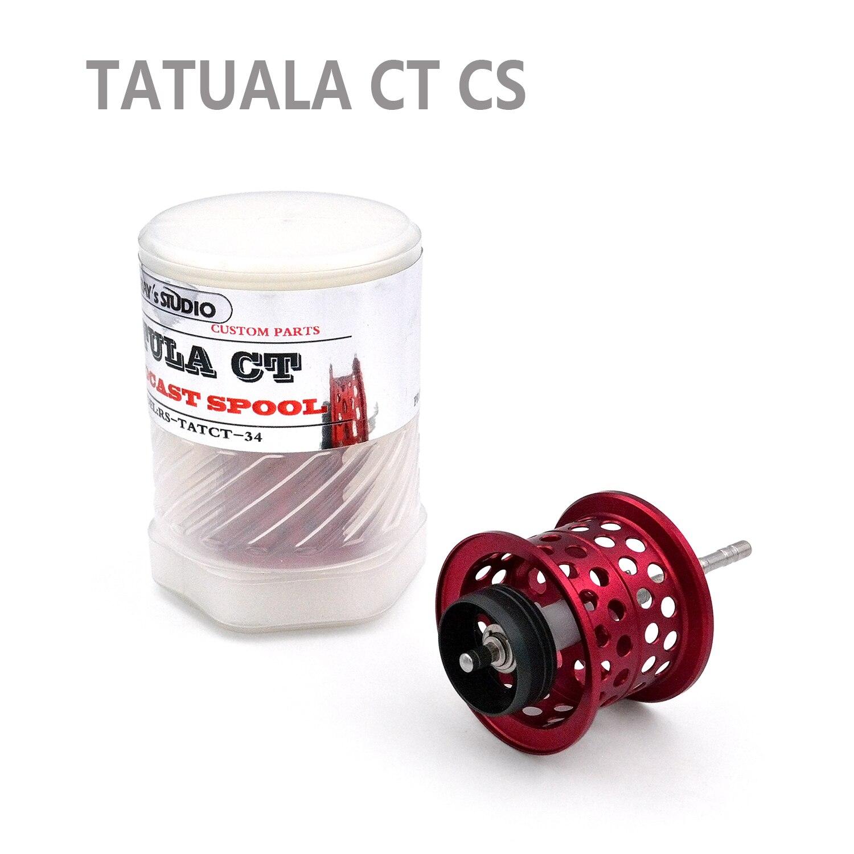 TATULA Series Spider Universal Modified DIY Spool For TATULA CT Daiwa Fishing Reel Spool Multiple-in Fishing Reels from Sports & Entertainment    2