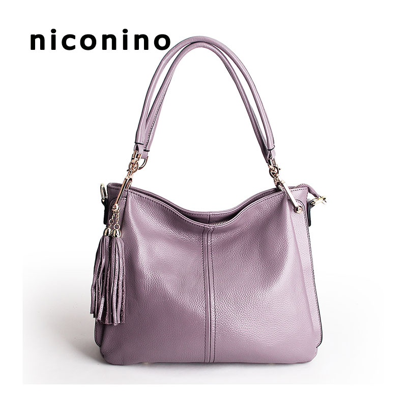 Handbag women shoulder bag female large tote bags hobo soft genuine leather ladies crossbody messenger bag purse fashion shoulder bag leather clutch handbag tote purse hobo messenger bag