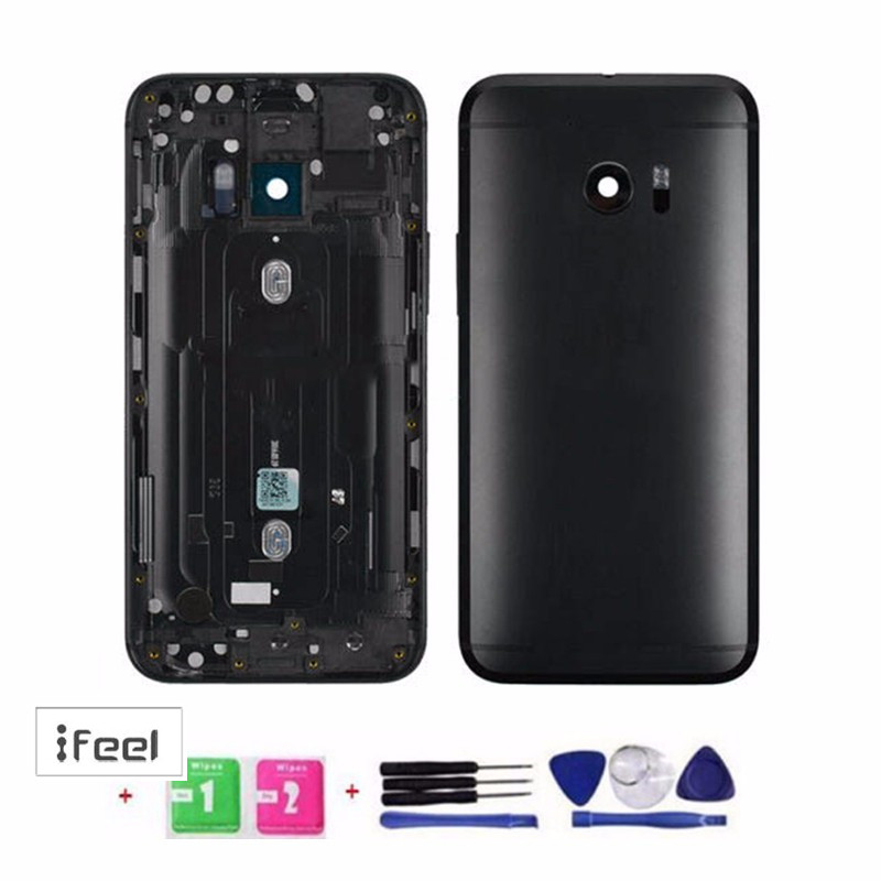 New Battery Back Door Cover Rear Housing With Camera Lens For HTC 10 M10h One M10