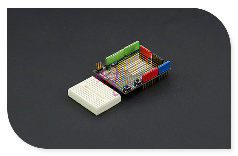 DFRobot 100% Genuine Prototyping Shield / Development Boards for / Compatible with Arduino UNO R3/Due/Mega 1280/Mega 2560-Module