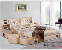 Реальные натуральная кожаная кровать ТВ мягкие кроватки спальня camas горит muebles де dormitorio yatak mobilya кварто массаж динамик bluetooth