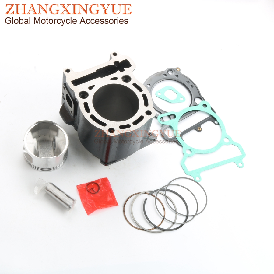 US $8 99 |69mm Cylinder Kit & Piston Kit & Cylinder Gasket for YAMAHA  Majesty 250 YP250 Versity 300 X Max 250 4HC 11311 00-in Engine Cooling &
