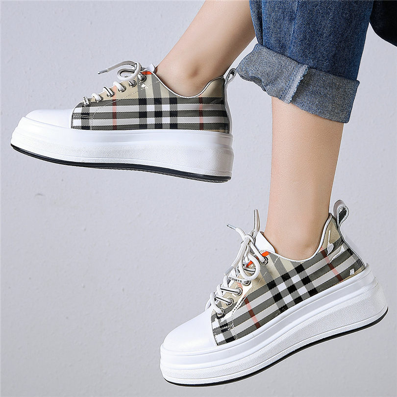 Ladies Womens Lace Up Wedge Sneaker Trainer Casual Fashion Walking Shoes Sizes