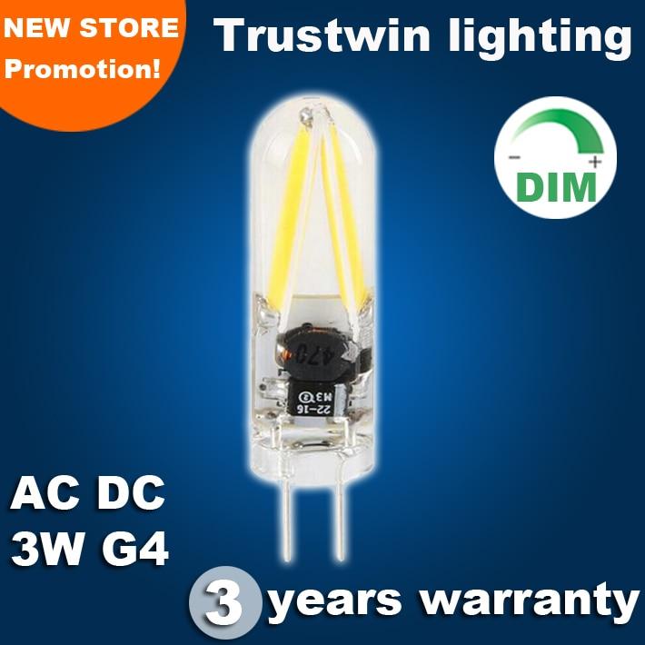 Are All Led Bulbs Dimmable Promotion-Shop for Promotional Are All ...:Dimmable Global omnidirectional 360 all direction 3w COB G4 LED car light  bulb AC DC 12V wholesale mini corn light COB 3W LED G4,Lighting