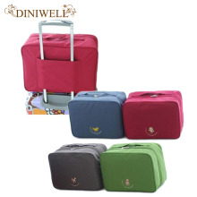 DINIWELL Portable Waterproof Nylon Travel Luggage Storage Suitcase Bag Tiered Packing Cubes Clothes Underwear Organiser Handbag