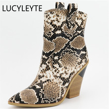 Plus size 34-46 New ankle boots for women shoes pointed toe thick high heels ladies shoes autumn winter women botas fashion shoe jialuowei brand new fashion women boots 12cm high heels sexy fetish pointed toe ankle boots ladies shoes botas mujer plus size