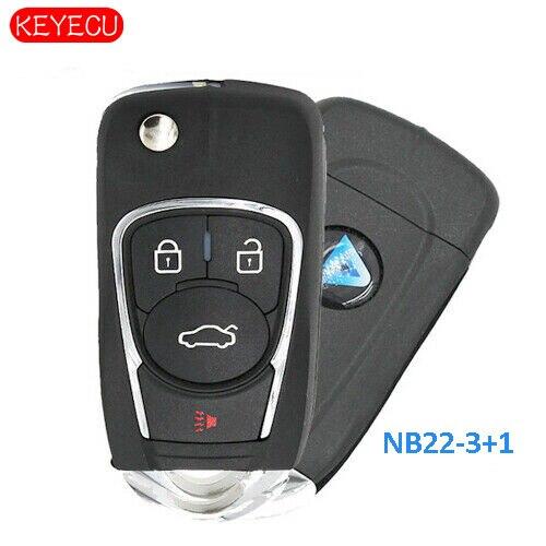 Coque de remplacement intelligente Keyecu pour Land Rover 2018 2019 porte-clés étui à distance 5 boutons-FCC: KOBJXF18A
