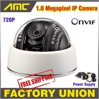 1.0 Megapixel IP Camera ngoài trời Chất Lượng Cao CCTV Camera IP HD Onvif 2.3 IR Night Vision Dome Camera