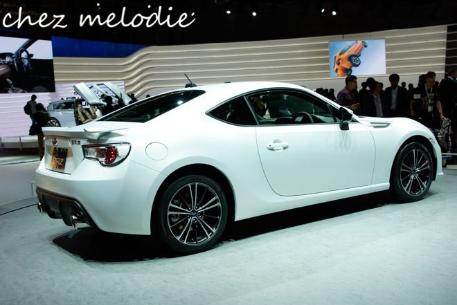 FRS style Primer unpainted FRP Car Rear Trunk Spoiler Wing For Subaru BRZ or TOYOTA GT86 FN86 ZN6, no drilling needed