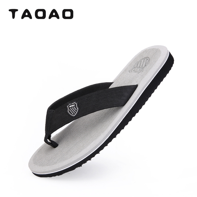 ff65e7dccad1 fashion Summer mens Slipper sport popular mens flip-flops poloere eva sole  light soft Breathable shoes Axido