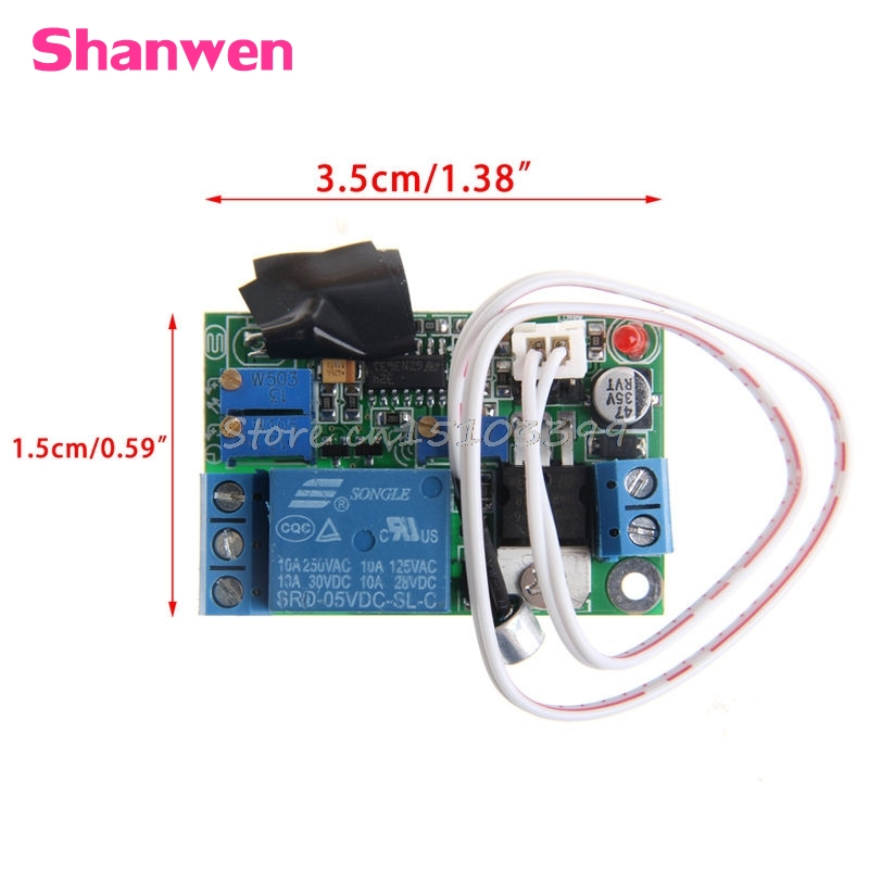 New DC5V 12V 24V Sound Sensor Light Control Relay Switch Time Delay Turn OFF Module #G205M# Best Quality switch photoresistor relay module light detection sensor 12v car light control