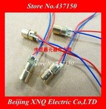 100 pcs/lot, 3 v 4,5 v 5 v laser kopf laser diode 650NM 5 mw kupfer semiconductor laser rohr 6mm äußere durchmesser