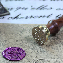 Letter Retro Vintage Wax Seal