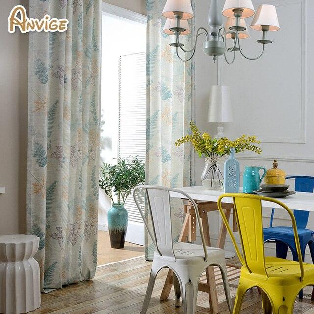 katoen linnen gordijnen slaapkamer custom made gordijn gordijnen verduisterende stof modern living enkele panelen