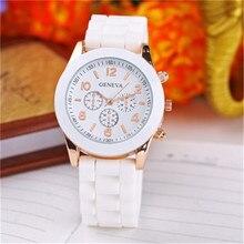 Luxury Brand Silicone quartz watch women men ladies fashion bracelt wrist