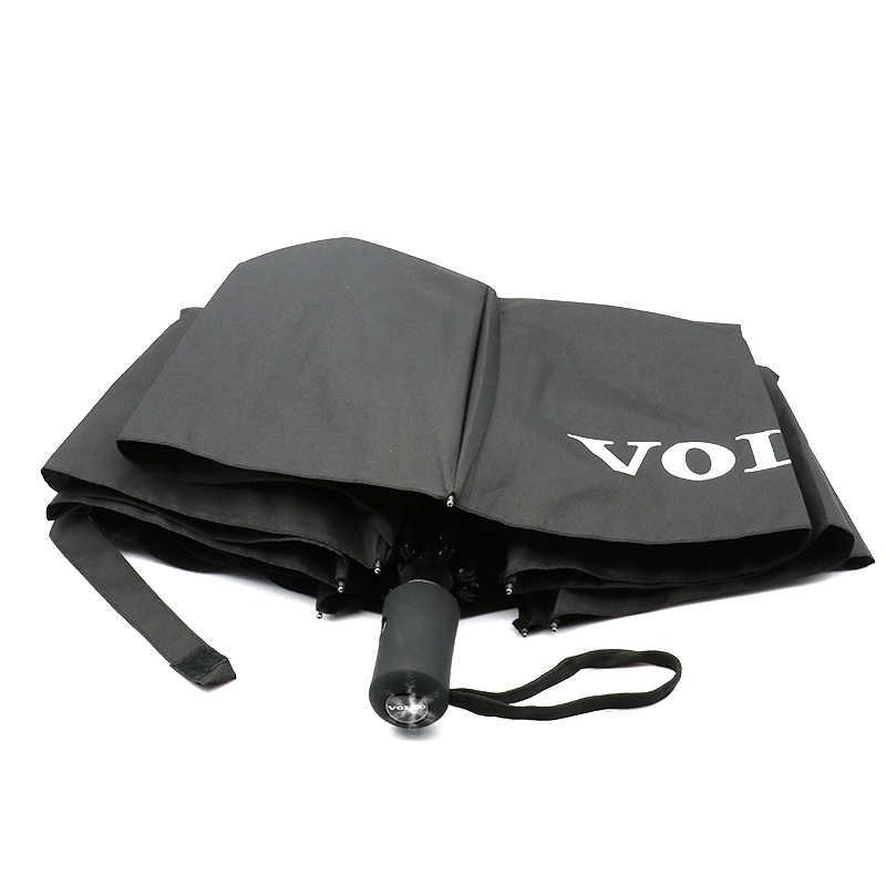 Высокое качество логотип для автомобильного стайлинга солнцезащитным козырьком, автоматический зонт от дождя для Volvo S60 XC90 V40 V70 V50 V60 S40 S80 XC60 XC70