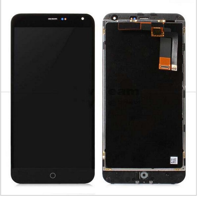 imágenes para 100% testedHigh Calidad Nueva Pantalla LCD + Asamblea de Pantalla Táctil Digitalizador para meizu m1 note teléfono 5.5 pulgadas negro con marco herramientas