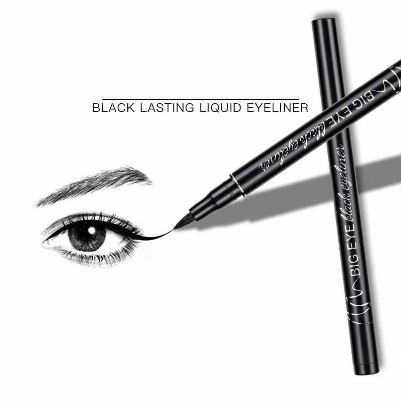 Профессиональная черная жидкая подводка для глаз Водонепроницаемая долговечная косметика для женщин Comestic подводка для глаз карандаш для макияжа глаза маркер ручка