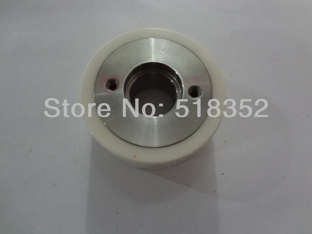 все цены на  X058D340G51 M407C Mitsubishi White Ceramic Pinch Roller OD57mmx T18mm for FX, FK-K, QA, FA20, RA series WEDM-LS Machine Parts  онлайн