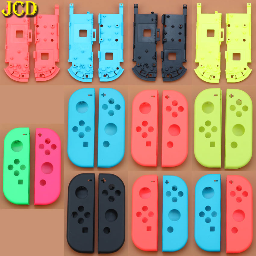 JCD Hard Plastic R L Housing Shell Case Cover for Switch NS NX Joy Con Controller for Joy Con Battery Bracket Handle Inner Frame-in Cases from Consumer Electronics