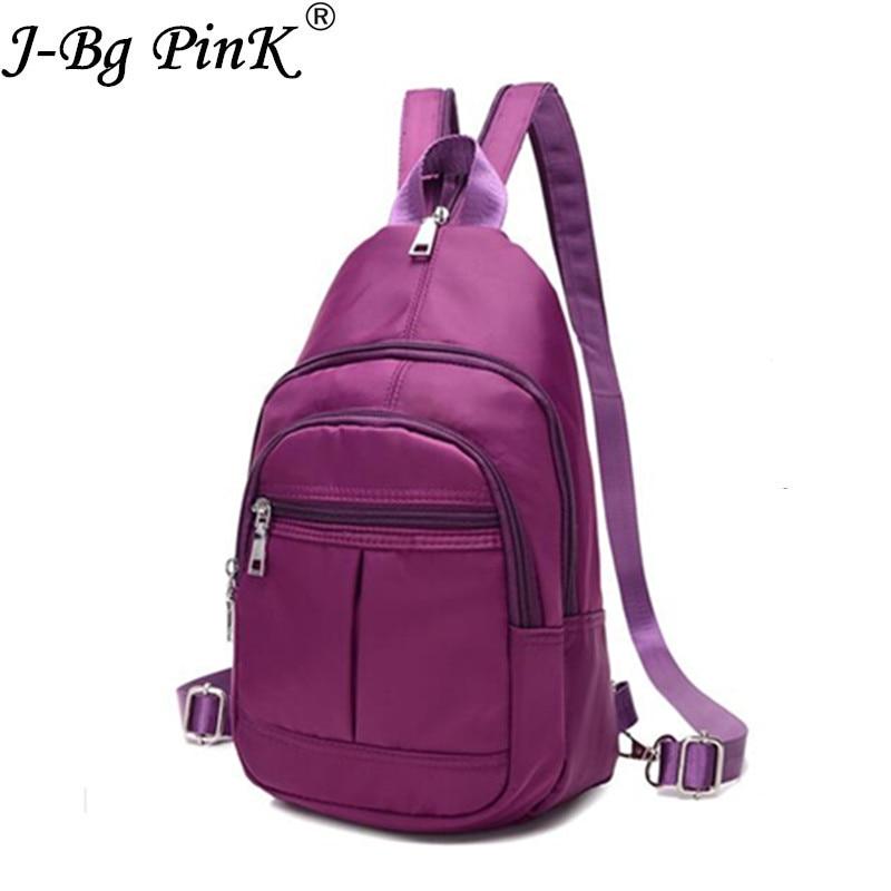 3ea74d53b4 Best buy J BG PinK 2017 New School Backpack for Teenage Girl Mochila  Feminina Women Backpacks Nylon Waterproof Casual chest bag Sac A Dos online  cheap