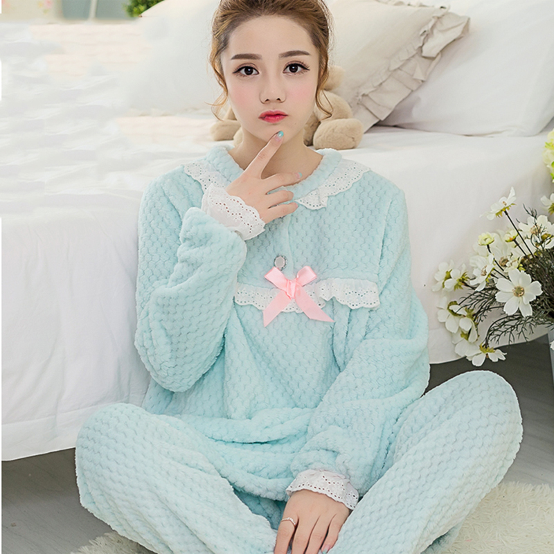 Online Buy Wholesale striped flannel pajamas from China striped ...