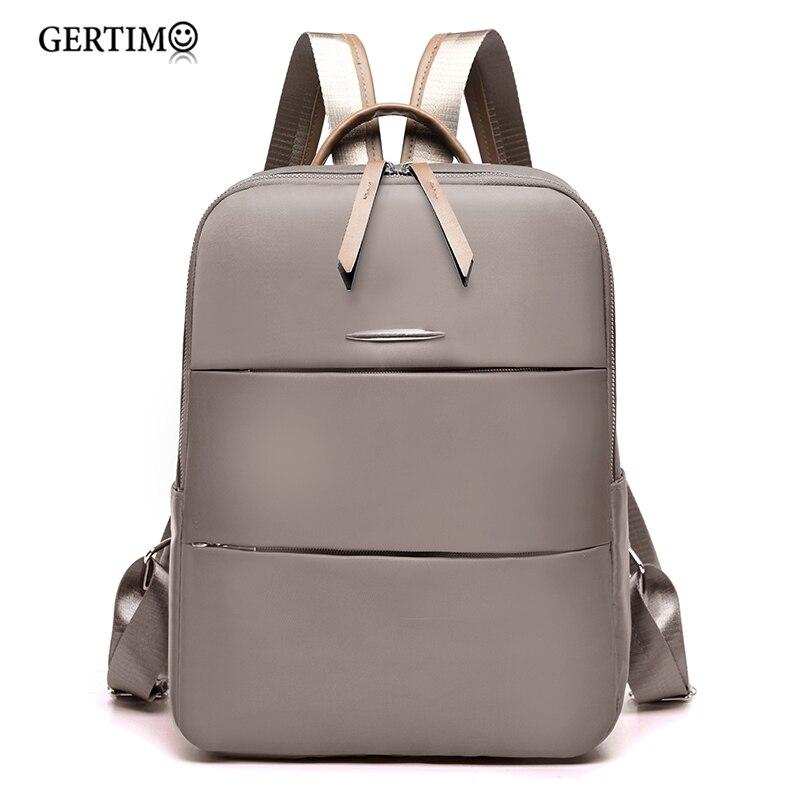City-Backpack Rucksack Small Girls Waterproof Femme School-Bag Oxford Travel Women's