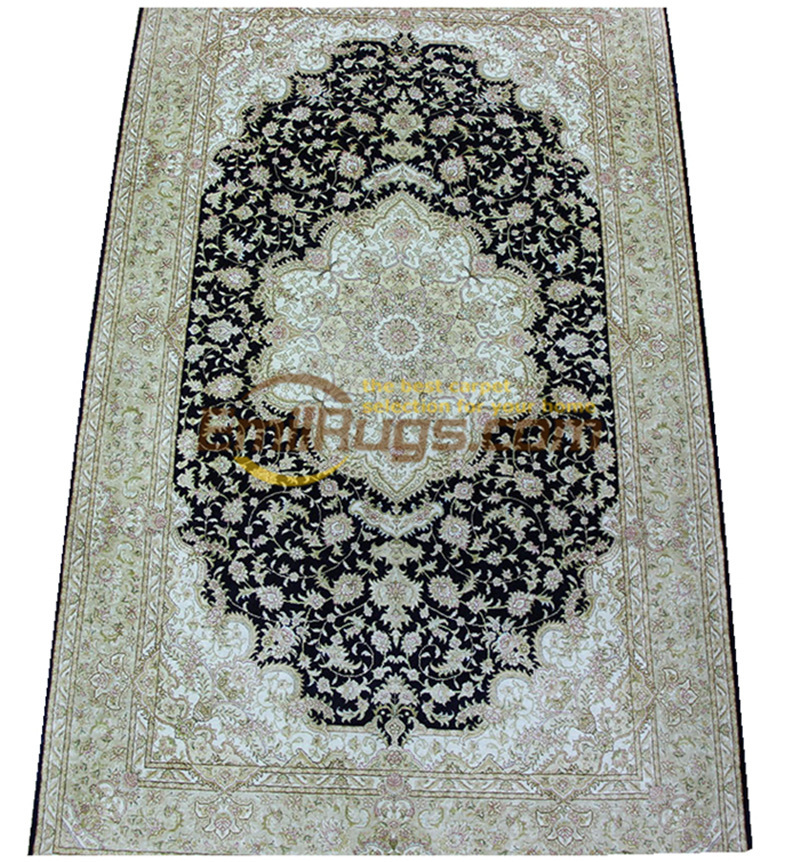 Laine ou soie persan Antique chinois fait à la main laine décor maison pour salon naturel laine de mouton tapis de Style sud-ouest