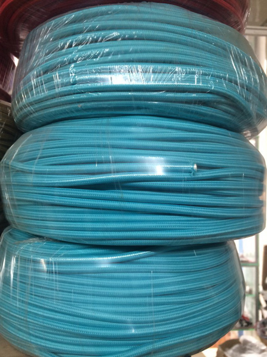 Colored Electrical Wire 2 0 75mm Copper Cloth Covered