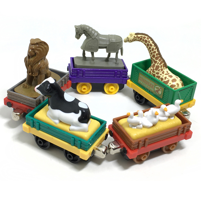 new injection molding magnetic Thomas and friend children's toy train Series Farms freight transportation Limited Edition