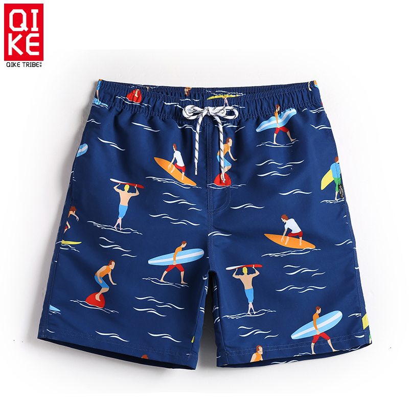 Men's summer swimming trunks board shorts swimwear beach surfing bermudas bathing suits plavky swimsuit mesh plavky liner