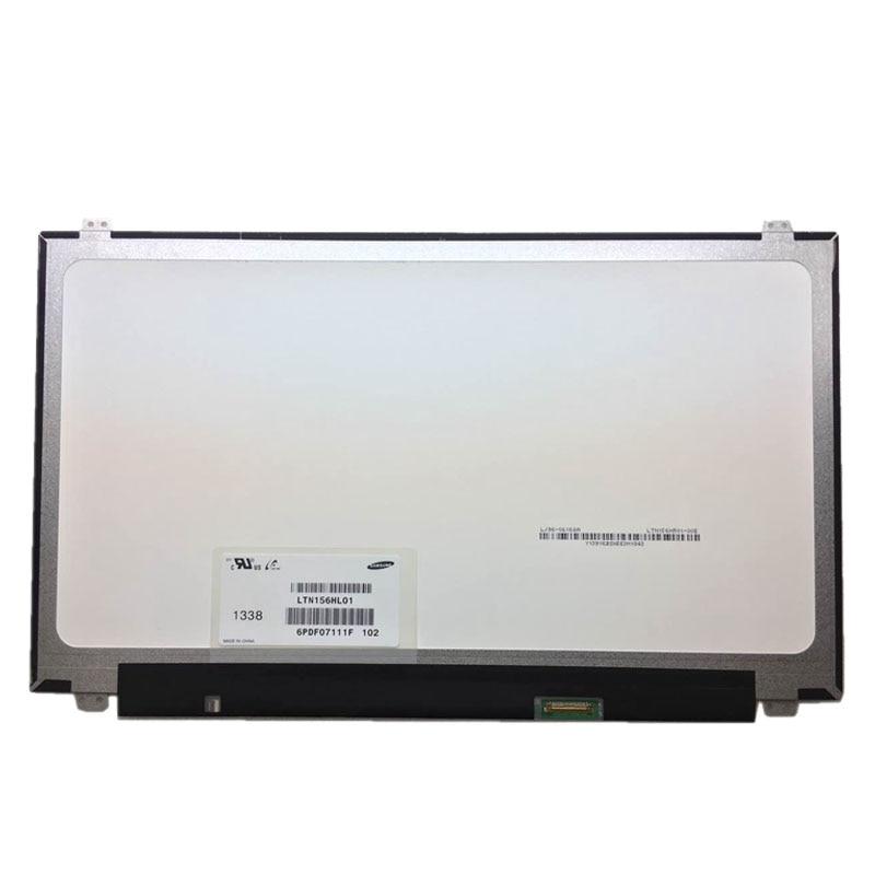 New 15.6LED LCD Screen Matrix LP156WF4 SPB1 LTN156HL01 B156HAN01.2 IPS 1920*1080 long plus size kitten printed bell sleeve ruffle top